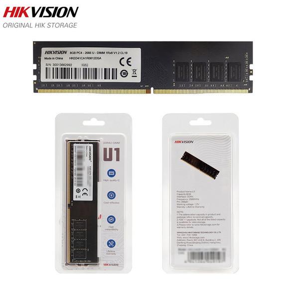 HIKVISION RAM 8GB / 16GB DDR4 2666MHz - For Desktop