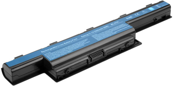 Replacement Battery Compatible with Acer AS10D31 AS10D51 AS10D56 AS10D75 AS10D81 AS10D61 AS10D41 AS10D73 AS10D71 AS10D3E AK.006BT.080 Aspire 5349 5750 5253 5250 5733 5552 5560 5336 5733Z 5755 5251 (AC1LPB03)
