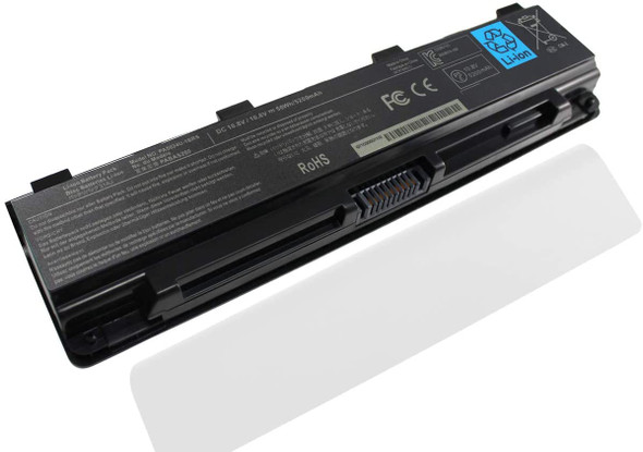 Replacement Battery Compatible with Toshiba Laptops | PA5110U-1BRS PA5108U-1BRS PA5023U-1BRS PA5025U-1BRS PA5027U-1BRS PA5024U PA5109U PA5026U PA5025U PABAS259 PABAS261 PABAS262 PABAS263 (AC1LBT01)