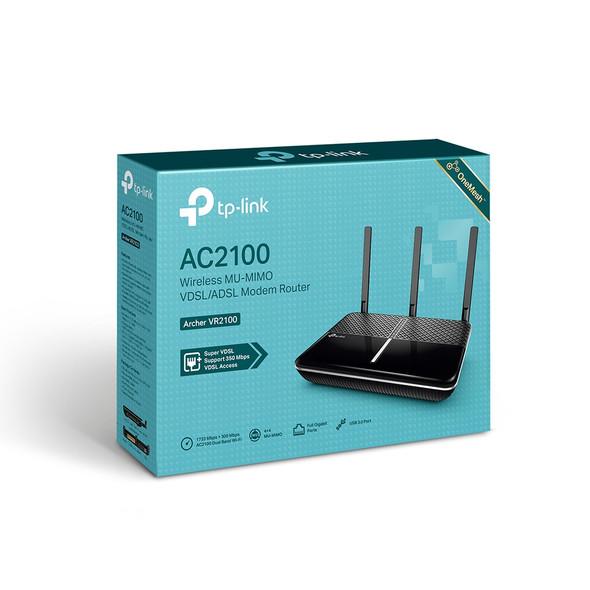 TP-Link Archer VR2100 AC2100 Wireless MU-MIMO VDSL/ADSL Modem Router (AC1XTP30)