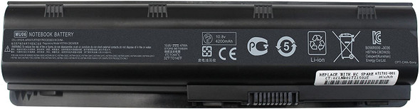 Replacement Battery Compatible with HP Laptops | MU06 593553-001 593554-001 Laptop Battery for HP Pavilion G4 DM4 M4 G6 G7 G42 G56 G62 G72, HP Spare 593553-001, HP Compaq Presario CQ32 CQ42 CQ43 (AC1LBH04)