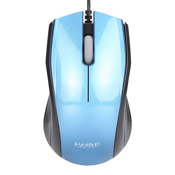 MARVO DMS001BL USB WIRED MOUSE 1200DPI