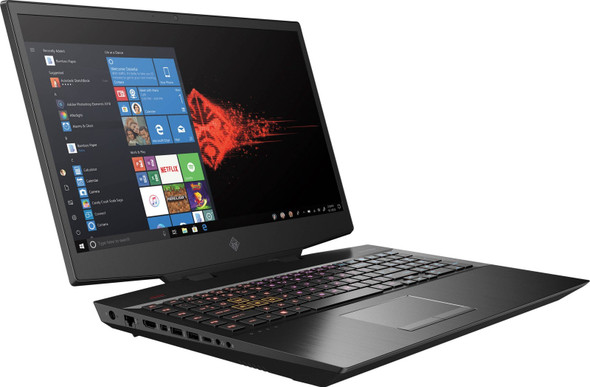 "HP Omen New Model (2020) 15-DH1099NR i7-10750H 2.6GHz , 8GB/2933 , 256GB SSD NVME ,NVIDIA GeForce RTX 2070/8GB Webcam BT 15.6"" (1920*1080)144Hz -No DVDRW Backlit Keyboard - Black 