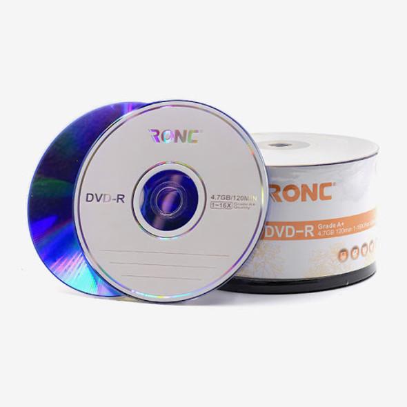 RONC Blank DVD-R 1-16X 4.7GB 120min - 50 Discs