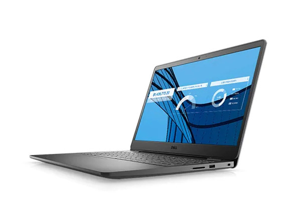 """Dell Vostro 3501: 10th Generation Intel(R) Core(TM) i3-1005G1 Processor (4MB Cache, up to 3.4 GHz) 4GB RAM, 1TB HDD, 15.6"""" (AC1LPD85)"""