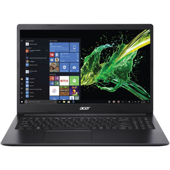 Acer Laptop Aspire 3 ( A315-56-34W3 ) NX.HS5EM.00K 15.6″ HD Acer ComfyView LCD Intel® Core™ i3-1005G1 4GB DDR4 1TB HDD DOS Black (4710180844368)