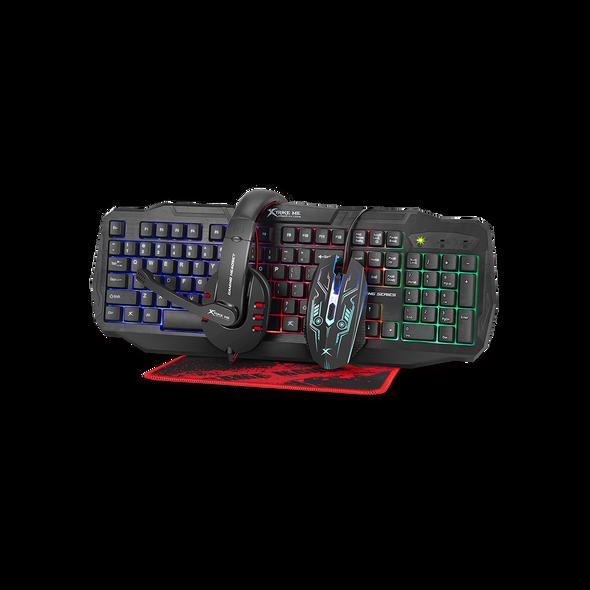 Xtrike CM406 Gaming SET MOUSE, KEYBOARD, HEADSET, MOUSEPAD
