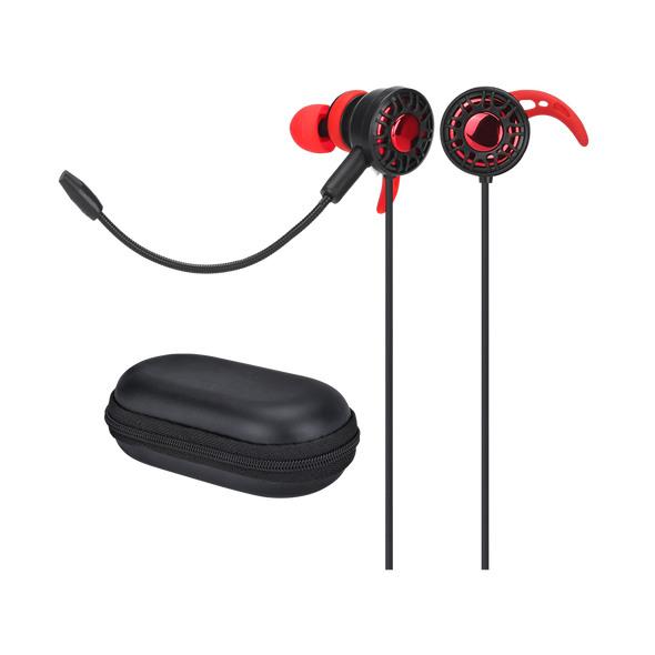 XTRIKE Stereo Gaming earbuds with microphone, GE-109 for Smartphone, PC, PS4, Xbox One, cable 1.2m
