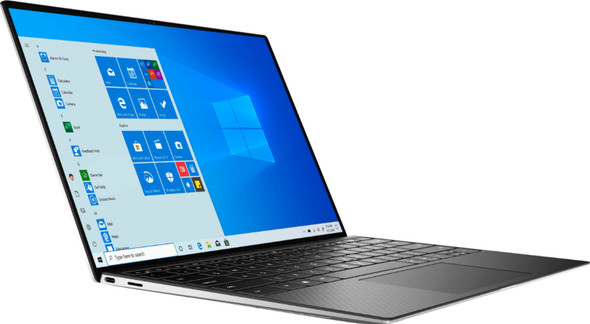 """Dell - XPS 13.4"""" FHD+ Touch Laptop - Intel Core i7-1065G7  - 8GB Memory - 512GB SSD - Platinum Silver   XPS9300-7234SLV-PUS"""