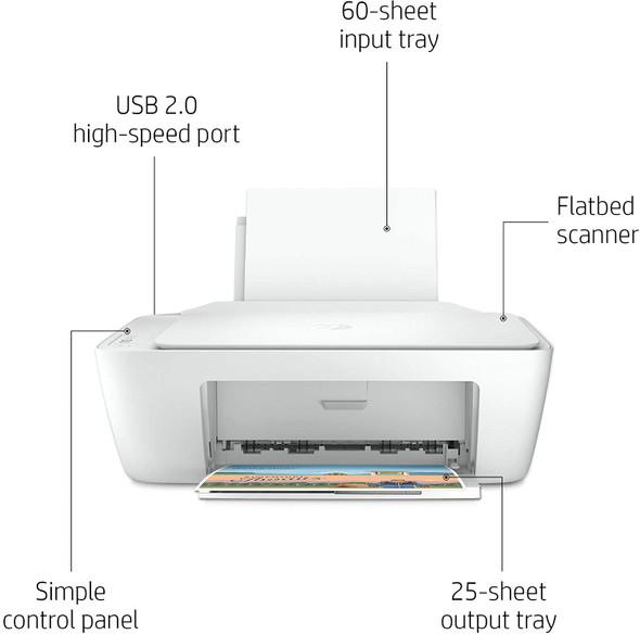 HP DeskJet 2320 All-in-One Printer (7WN42B) Print, Scan, Copy