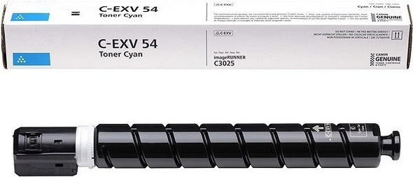 Compatible Toner Cyan Cartridge C-EXV 54 C for Canon printers (TN9837H5)