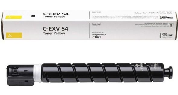 Compatible Toner Yellow Cartridge C-EXV 54 Y for Canon Printers (TN73D447)