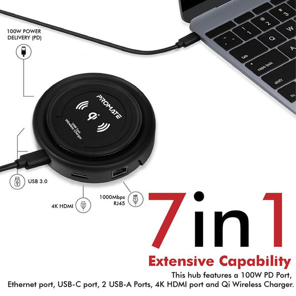 PROMATE All-in-One Universal USB-C Hub | CenterHub