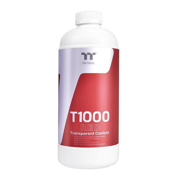 Thermaltake T1000 Coolant - Red   CL-W245-OS00RE-A
