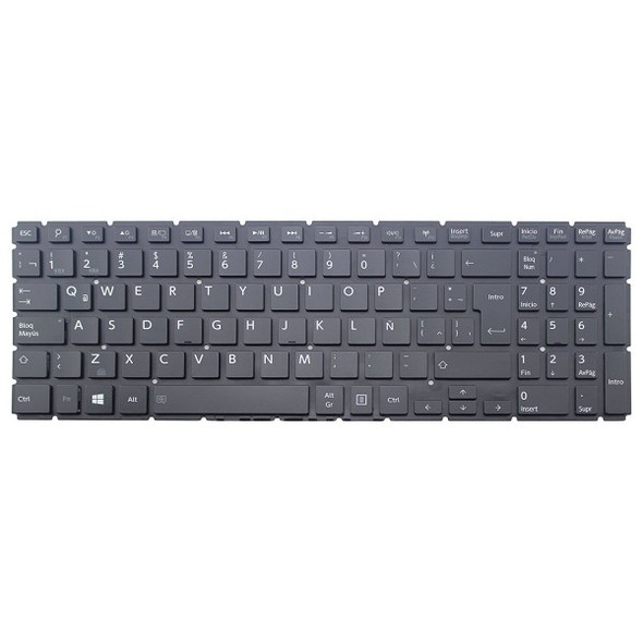 Compatible Replacement Keyboard for Toshiba Satellite L50-B-13D L50-B-13M L50-B-14C L50-B-14V L50-B-18C L50-B-18D L50-B-18E L50-B-18K L50-B-19L