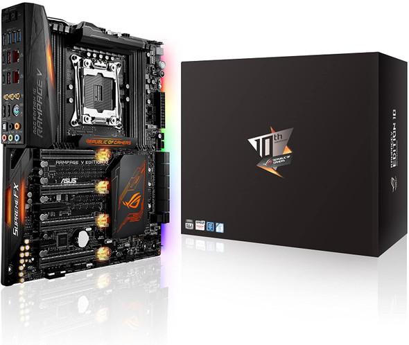 ASUS LGA2011 5 Way Optimization SafeSlot X99 EATX Motherboard (Rampage V Edition 10)