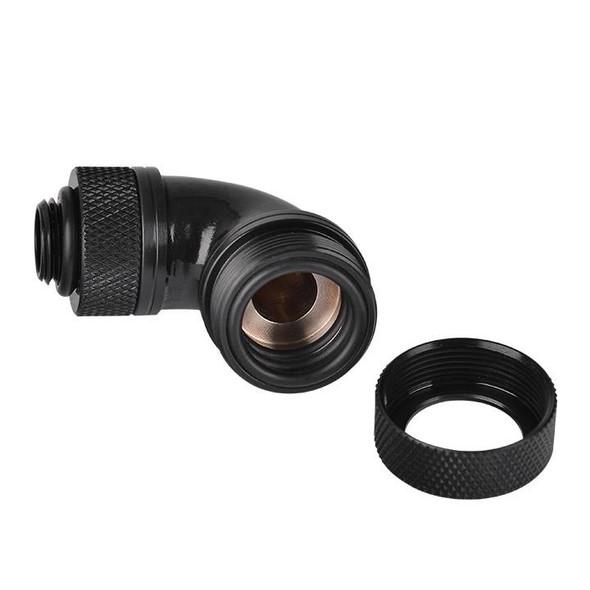 Pacific G14 PETG Tube 90-Degree Compression 16mm OD – Black CL-W097-CA00BL-A
