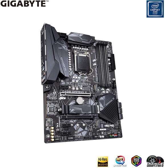 GIGABYTE Z490 Gaming X (Intel LGA1200/Z490/ATX/2xM.2/Realtek ALC892/Intel LAN/SATA 6Gb/s/USB 3.2 Gen 2/HDMI/Gaming Motherboard)
