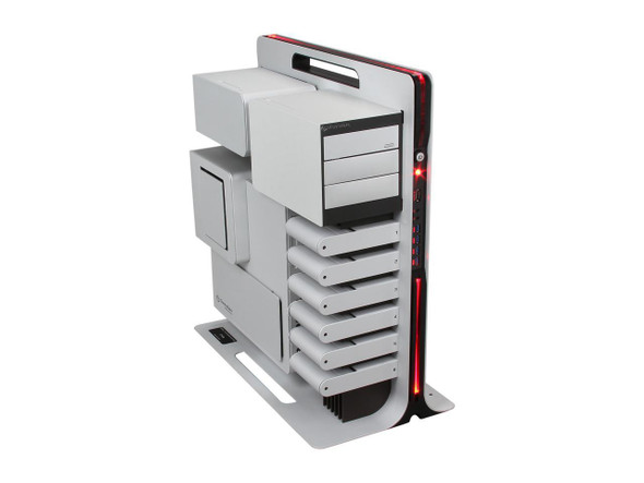 Thermaltake Level 10 Limited Edition Silver Aluminum ATX Full Tower Computer Case VL300A2N1N