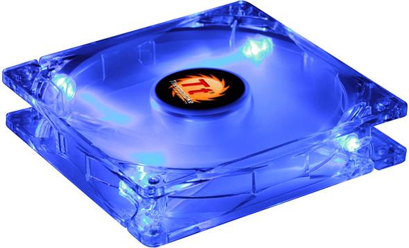 Thermaltake Blue-Eye Silent Smart 80mm Blue Led Case Fan with Adjustable Fan Speed Control AF0025