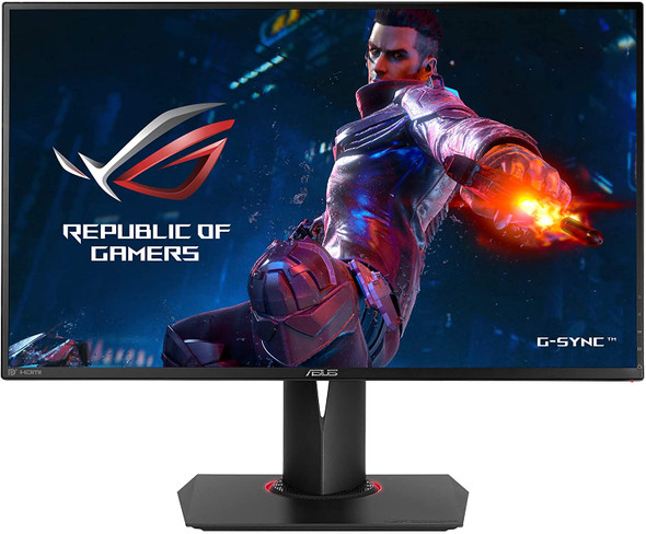 "ASUS ROG Swift PG278QR Gaming Monitor - 27"" 2K, 1ms, 144Hz up to 165Hz"