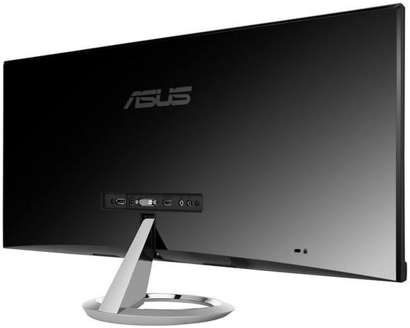 "ASUS Designo MX299Q Monitor - 29"" Ultra-wide QHD, AH-IPS, B&O Audio, Built in Speakers, Frameless Design"
