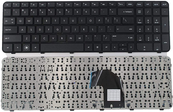 Replacement Keyboard with Frame Compatible with HP Pavilion G6-2000 G6-2100 G6-2200 G6-2300 G6T-2000 g6-2002xx g6-2010nr g6-2090ca g6-2106nr g6-2111us