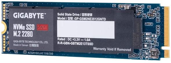 GIGABYTE  NVMe  512GB PCIe 3.0 x4   GP-GSM2NE3512GNTD