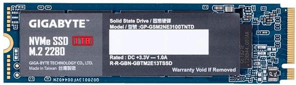 GIGABYTE  NVMe  1TB PCIe 3.0 x4   GP-GSM2NE3100TNTD
