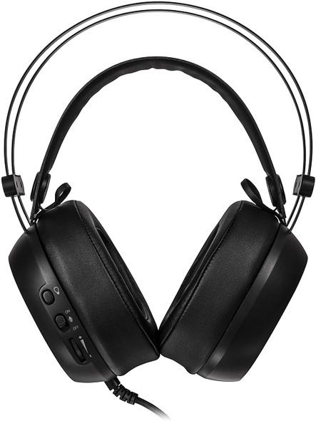 TT ESPORTS Shock Pro RGB 7.1 Virtual Surround Sound Professional USB Gaming Headset | HT-SHK-DIECBK-25