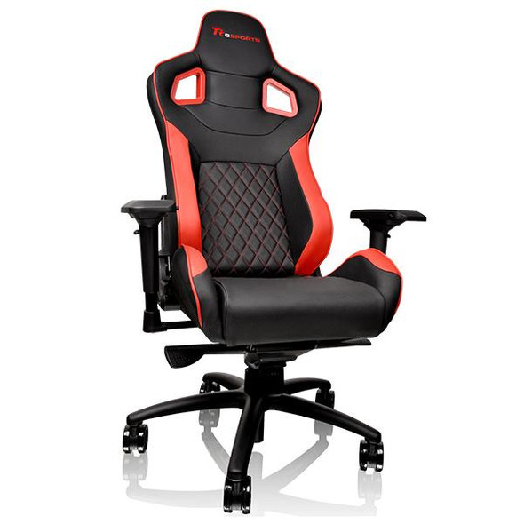 TT GT FIT Series professional gaming chair Red | GC-GTF-BRMFDL-01