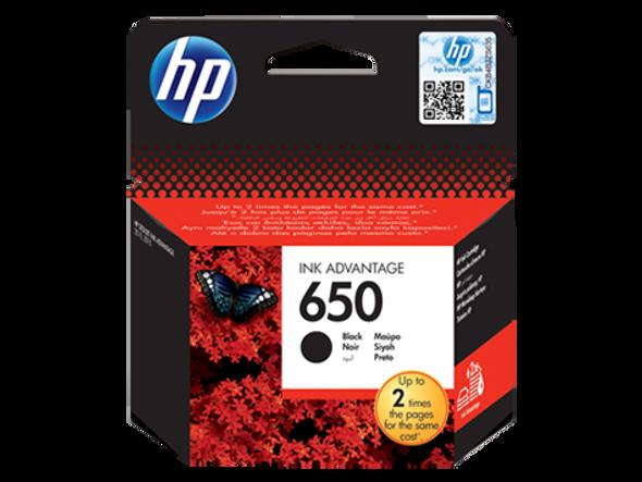 HP 650 Black Original Ink Advantage Cartridge (CZ101AE)