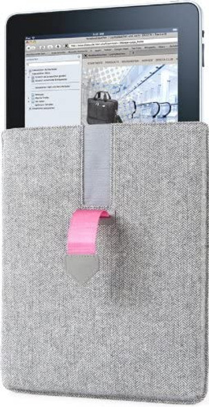 Dicota PadCover (Grey/Pink) Ultimate protective sleeve for the iPad | N26448P
