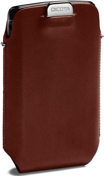 Dicota Elegant leather case with pull tab function for smartphone | M27298L