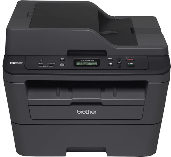 Monochrome Laser Multi-Function Centre with Automatic 2-sided Printing and Wireless Connectivity (30 PPM, 3 in 1 Multifunction, Duplex, Network,ADF,10K MDC,2,600 pgs inbox) | DCP-L2540DW