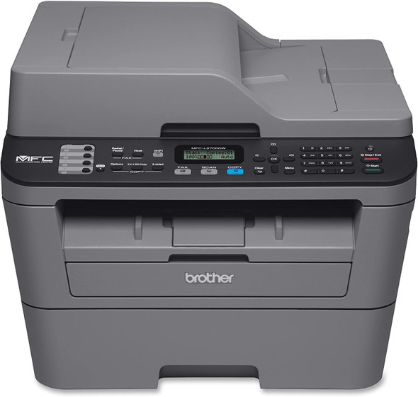 Mono Laser Multi-function Printer 30 PPM, 4 in 1 Multifunction, 32MB,Duplex,  Wireless, Network,ADF,10K MDC,2,600 pgs inbox | MFC-L2700DW