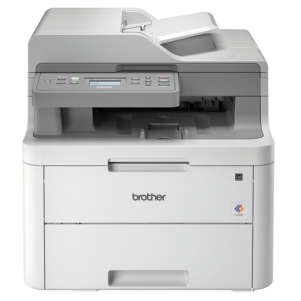 Colour Laser Multi-function Printer 3 in 1 Color, Duplex, Wireless,  Network,18/19 PPM, 512 MB, ADF 50 Pages | DCP-L3551CDW