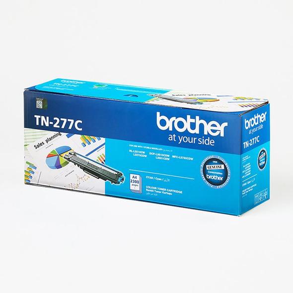 Brother 2,300 pages Cyan toner (DCP-L3510DW,DCP-L3551DW, MFC-L3750CDW) | TN-277C