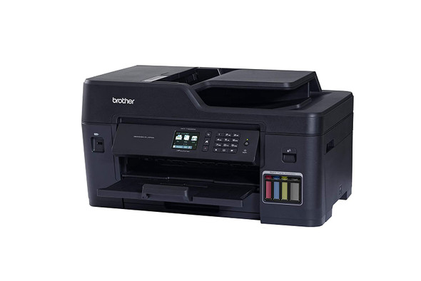 Brother All-in-One Inktank Refill System Printer 4in1, 35/27 ppm, Duplex,Wi-Fi and Network, 250 sheet standard, 100 sheet MP tray| MFC-T4500DW