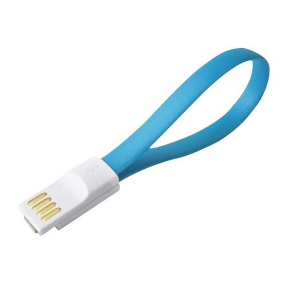 Addlink C10 USB Magnet Cable (Micro USB +USB) (Blue) | ad22MUC10B3