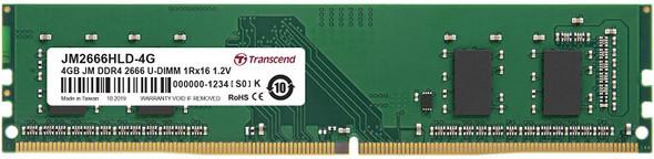 Transcend 4GB JM DDR4 2666 U-DIMM 1Rx16 1.2V