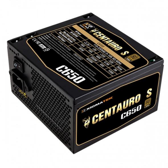 XIGMATEK CTS Centauro s 650W FULL RANGE 80 PLUS BRONZE