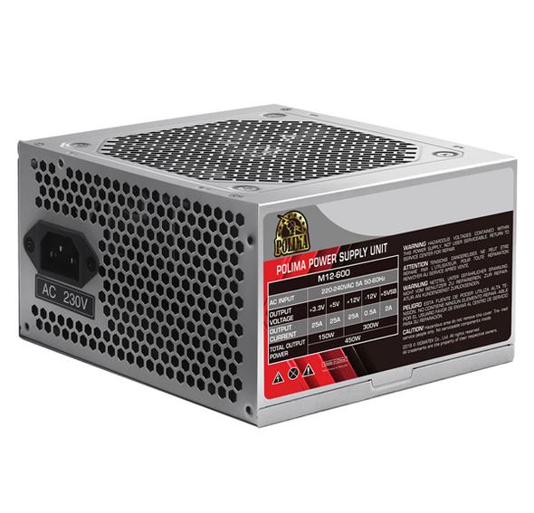 Xigmatek Polima M12-600 (200W, 230V, 120mm Fan, SECC Case, EU Power Cord, Bulk) EN42685