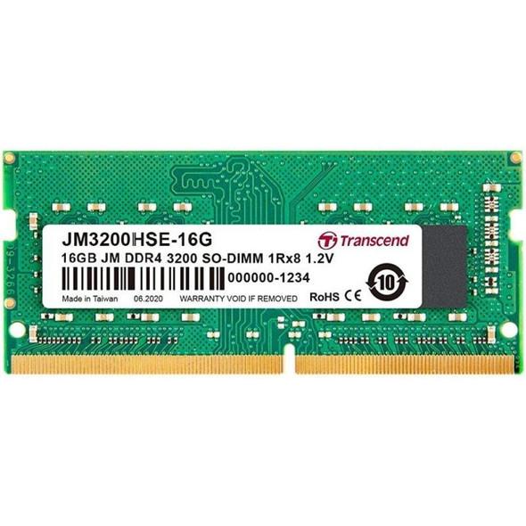 16GB JM DDR4 3200Mhz SO-DIMM 1Rx8 2Gx8 CL22 1.2V