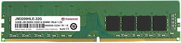Transcend 32GB JM DDR4 3200Mhz U-DIMM JM3200HLE-32G