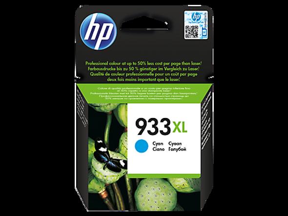HP 933 Cyan Original Ink Cartridge (CN058AN)