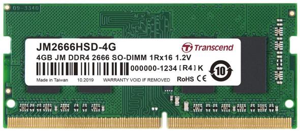 Transcend 4GB JM DDR4 2666 SO-DIMM 1Rx16 1.2V