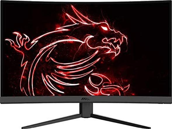 "SI Optix G27C4 FHD 1500R Curvature 16:9 Aspect Ratio Non-Glare Super Narrow Bezel 1ms 1920 x 1080 165Hz Refresh Rate Tilt Adjustment AMD FreeSync 27"" Curved Gaming Monitor"