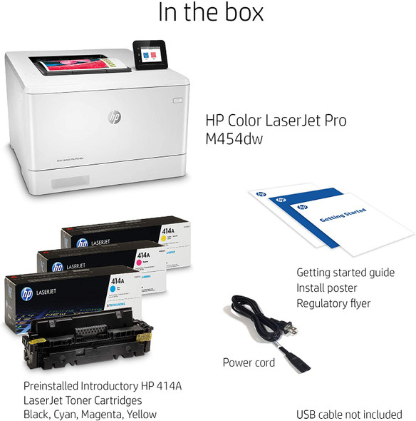 Hp Color Laserjet Pro M454dW | W1Y45A