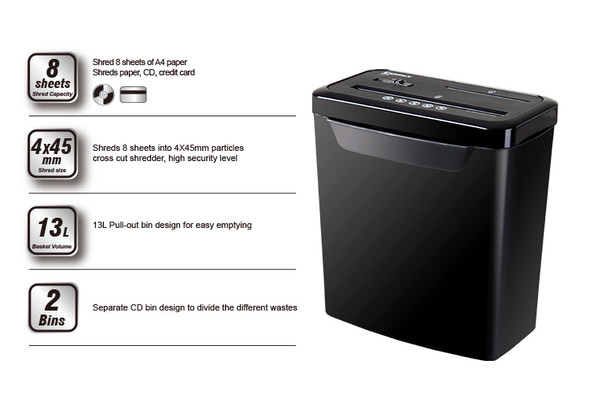 ONYX OX7100 Paper Shredder